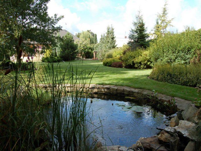 Garden pound and maintenance